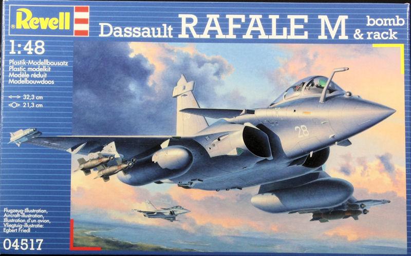 rafale  Ma première maquette Rafale B 1/48 Revell