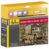 Heller - 49994 - Maquette - Opel Blitz and Pack 40 - Echelle 1:72