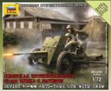 ZVEZDA 6112 Canon Soviétique 45mm