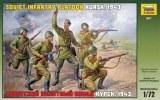 ZVEZDA 8077 Infanterie Sovietique 2ème G.M.
