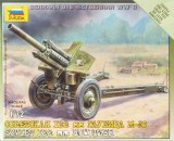 ZVEZDA 6122 122 mm Howitzer M1938 (M-30)2fig, 1 canon