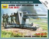 ZVEZDA 6158 FlaK 36/37 88mm + servants