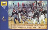 ZVEZDA 8020 Infanterie lourde Russe 1812