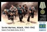 Soviet marines, attack, 1941-1942