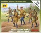 ZVEZDA 6179 INFANTERIE SOVIETIQUE 1941-1942 1/72