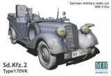 SD.Kfz.2 Type 170VK German military radio car