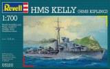HMS Kelly 1/700 - Maquette de bateau Revell 5120