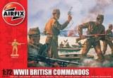 a01732 WWII british commandos Airfix