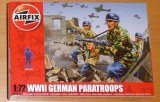 a01753 WWII german paratroops Airfix