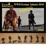 7711 WWII German infantry 1943 Caesar