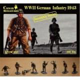 7711 WWII German infantry 1943 Caesar