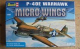 P-40E WARHAWK Revell 1/144
