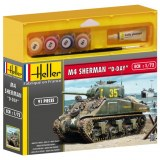 Heller - 49892 - Maquette - Sherman