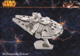 Star Wars Millennium Falcon en métal