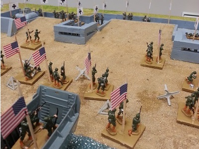 figurine 1/72 omaha beach